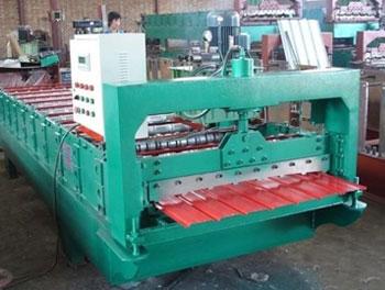 910型全自动彩钢压瓦机
