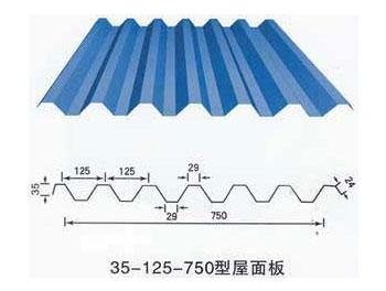 750型压瓦机板型