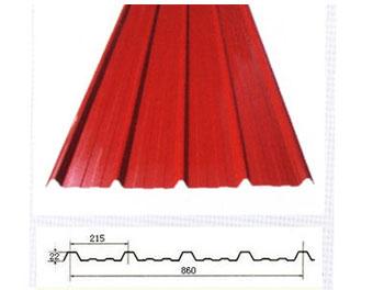 860型彩钢瓦设备板型