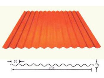 850型水波纹压瓦机板型
